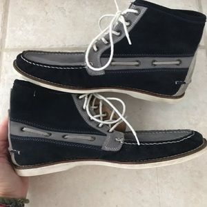 Tommy Hilfiger Wyatt Suede Lace Up Ankle Boots